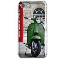 Italian Green Lambretta GP Scooter iPhone Case/Skin
