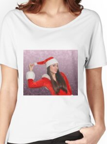 Christmas girl Women's Relaxed Fit T-Shirt