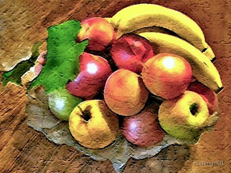 Fruit Still Life by hammye01
