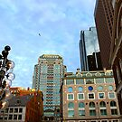 Boston downtown by Elena Elisseeva