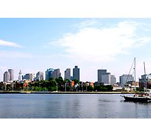 Boston skyline Photographic Print