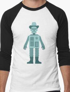 Cowboy Robot Men's Baseball ¾ T-Shirt