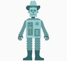 Cowboy Robot Unisex T-Shirt