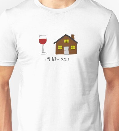 Amy Winehouse Tribute: 1983 - 2011 Unisex T-Shirt