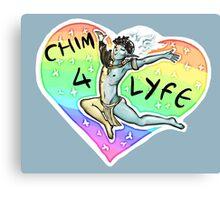 CHIM 4 LIFE - Thank u based vehk Canvas Print