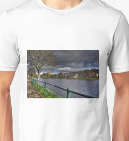 River Ness, Inverness, Scotland. Unisex T-Shirt