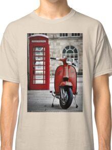 Italian Red Lambretta GP Scooter Classic T-Shirt