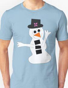 Cheery Snowman T-Shirt