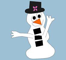Cheery Snowman Unisex T-Shirt
