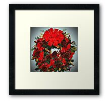 The Christmas Wreath Framed Print