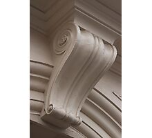 Building detail, University of Ballarat Post Office campus Photographic Print