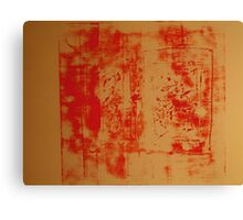 Orange no. 34 Canvas Print