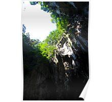 Insinde the Cave II - Batu Caves, Malaysia. Poster