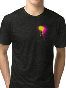 spray paint. Tri-blend T-Shirt