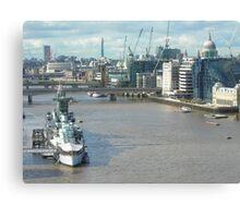 Belfast... City Canvas Print