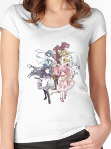 Puella Magi Madoka Magica - Only You Women's Fitted Scoop T-Shirt
