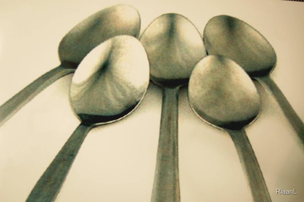 Simply silver by RiaanL