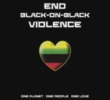 End Black-On-Black Violence Kids Tee