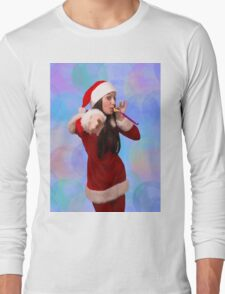 Christmas girl Long Sleeve T-Shirt