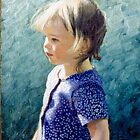 Portrait Oil on Canvas by Simon Groves