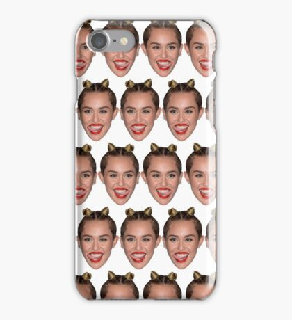 got miley? iPhone Case/Skin