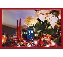 WHO's coming for Christmas? Photographic Print