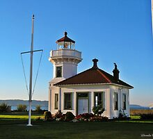 MUKILTEO LIGHTHOUSE by Rhonda R Clements