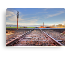 Old set of tracks  Canvas Print
