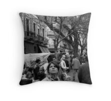 Plaza Dorrego, Buenos Aires Throw Pillow