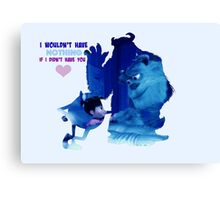Monsters Inc Canvas Print