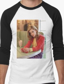Emma Watson Milkshake Color Men's Baseball ¾ T-Shirt