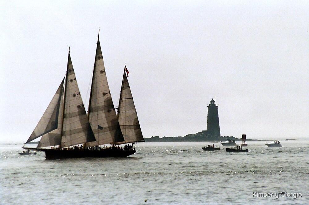 Tall Ship by Kimberly Giorgio