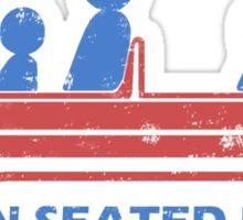 Remain Seated Please Sticker