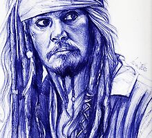 Jack Sparrow by lunaperriART