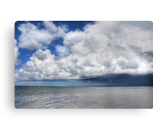 The clouds Canvas Print