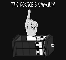 The Doctor's Family (Black and White) Unisex T-Shirt