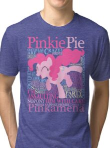 The Many Words of Pinkie Pie Tri-blend T-Shirt