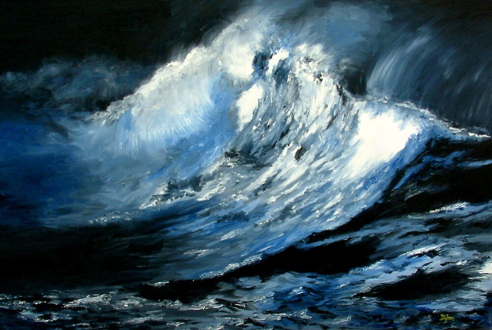 Moody Blue by Dylan Cotton