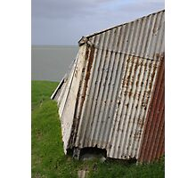 Cold shack Photographic Print