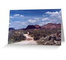 Castle Rock Wilderness Greeting Card