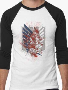 Wings of Freedom Men's Baseball ¾ T-Shirt