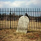 Judith Carter Henry's Grave Site on the Manassas Battlefield, VA - USA by Bine