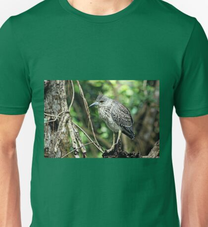 Juvenile Yellow Crowned Night Heron Unisex T-Shirt