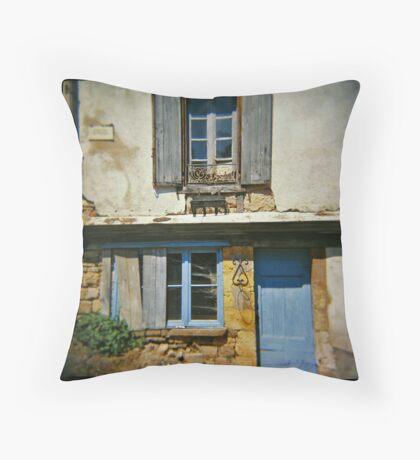 Cordes Sur Ciel, France. Throw Pillow