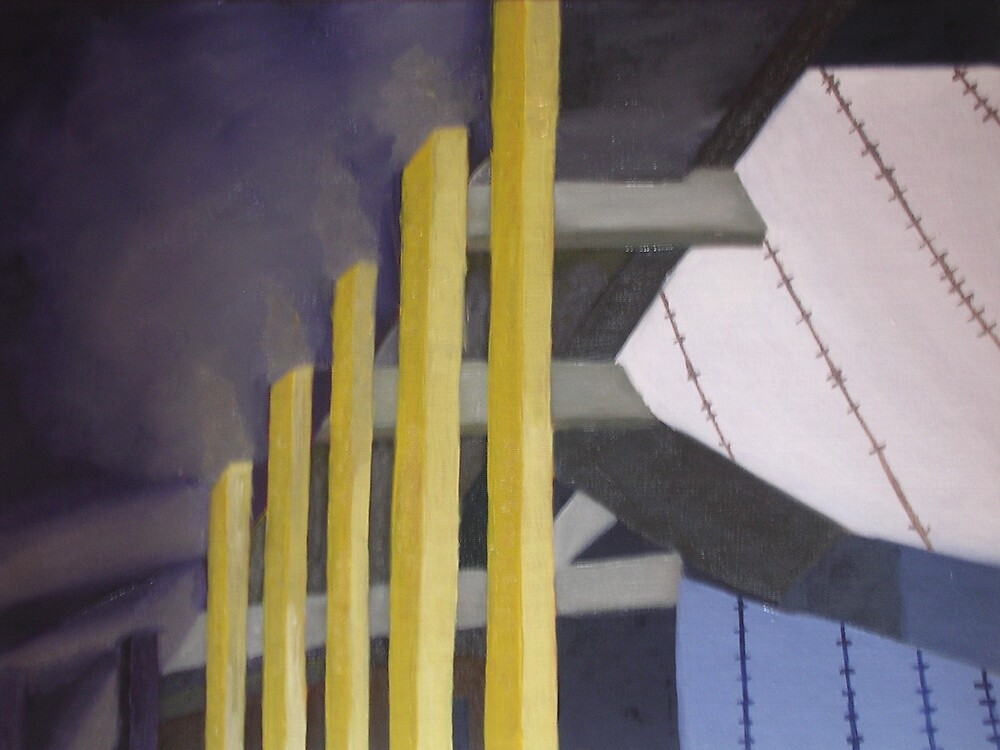 Section of a Building (Abstract) by Joan Wild