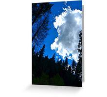Cloud Greeting Card