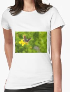 Artwork - Brown Argus Womens Fitted T-Shirt