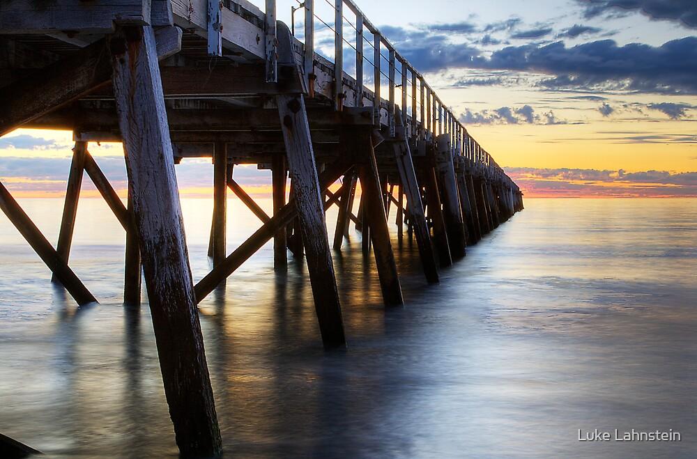 Semaphore Jetty Sunset by Luke Lahnstein