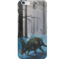 Last Days of the Pentaceratops iPhone Case/Skin
