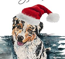 Frank Davies Christmas cards by Kylie Farrelly